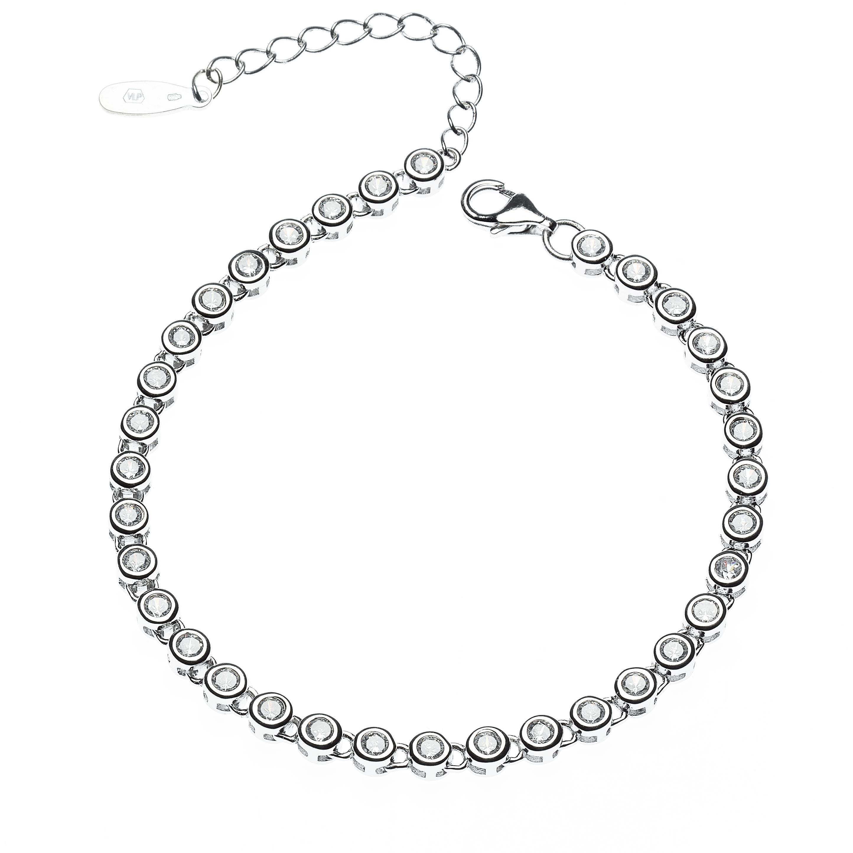 Dámský stříbrný náramek NB-1039