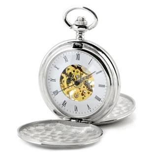 KH0019-ST Mechanické kapesní hodinky otevírací - cibule