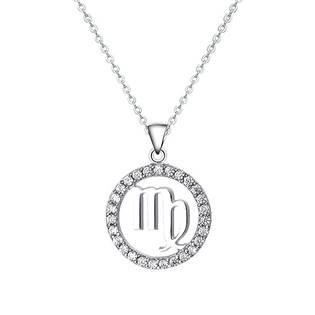 NB-2162-02 Stříbrný náhrdelník - znamení panna