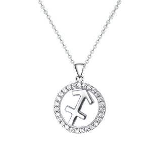 NB-2162-06 Stříbrný náhrdelník - znamení střelec
