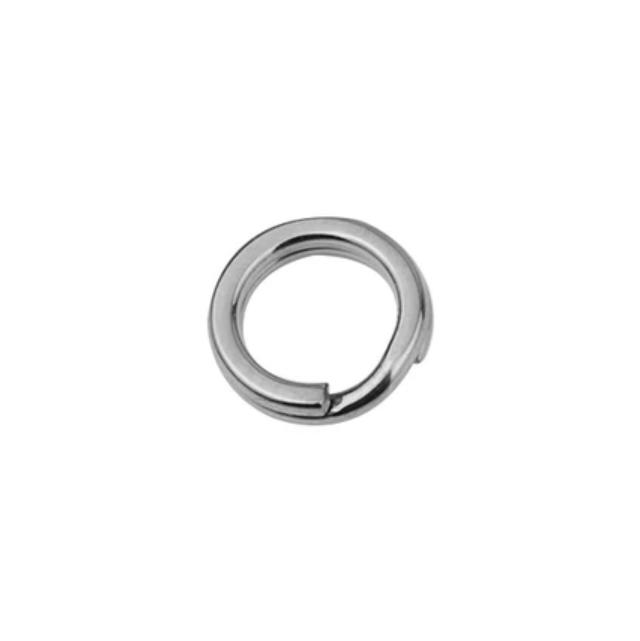 Ocelový kroužek na klíče, pr. 10 mm