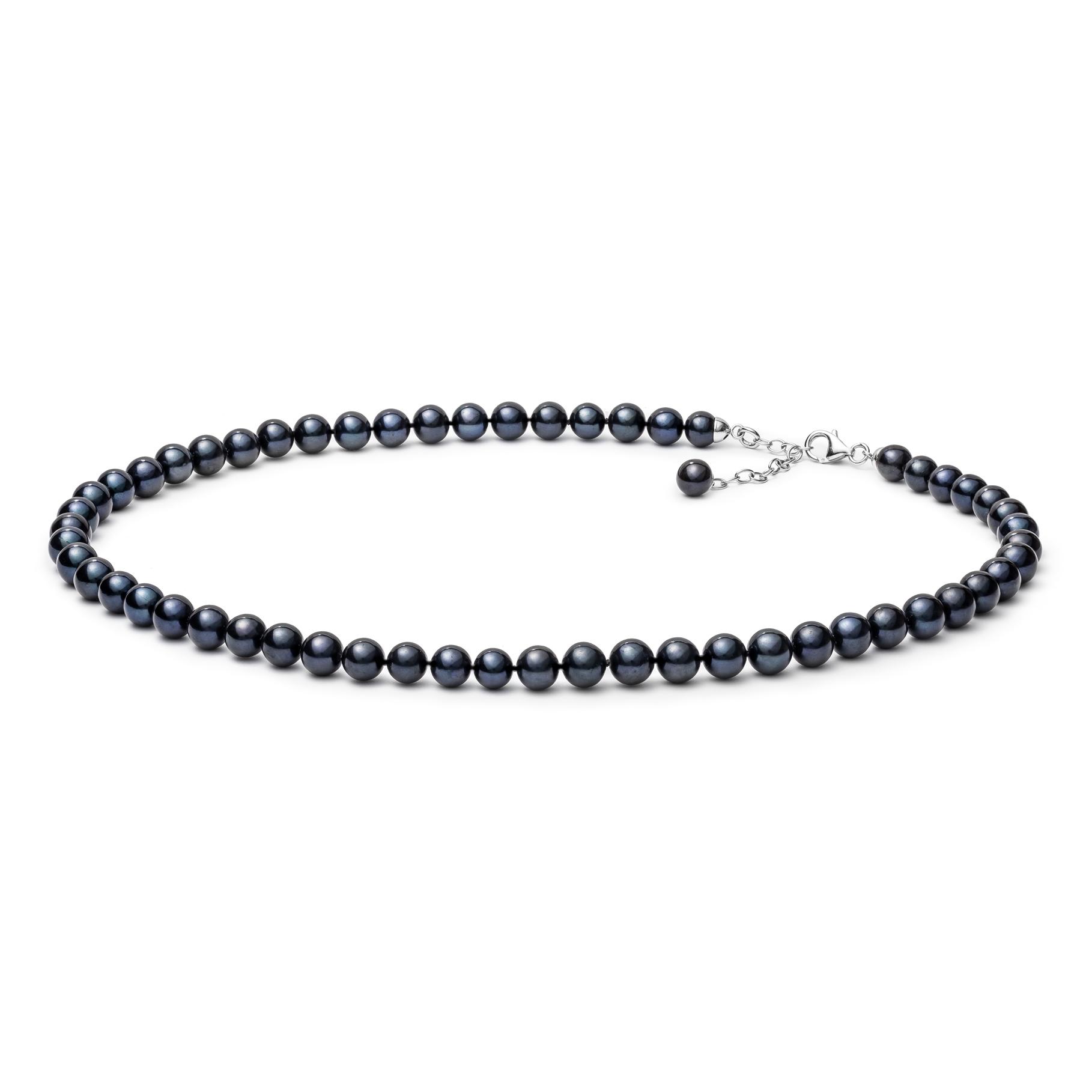 Perlový náhrdelník z pravých říčních perel GA3007-K
