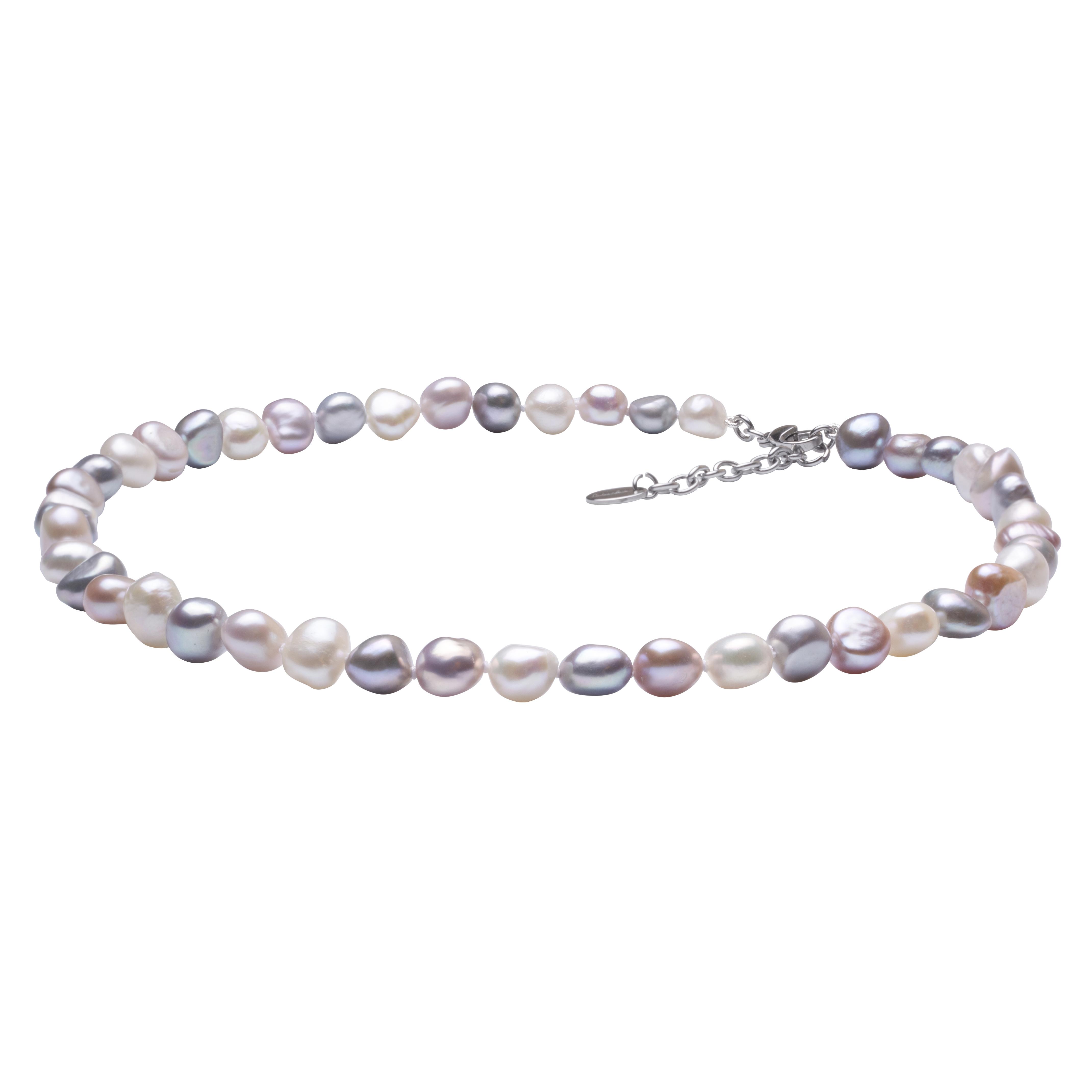 Perlový náhrdelník z pravých říčních perel GA3000-V