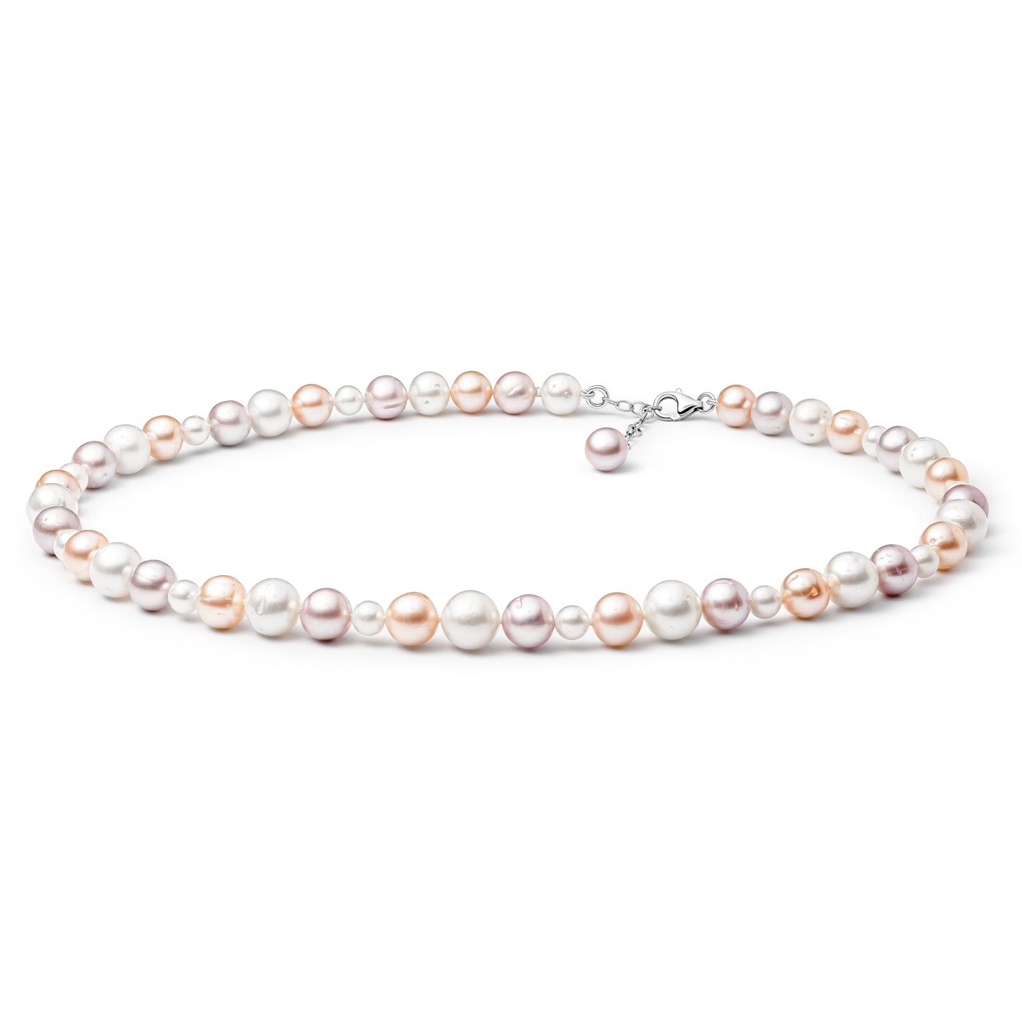 Perlový náhrdelník z pravých říčních perel GA3011