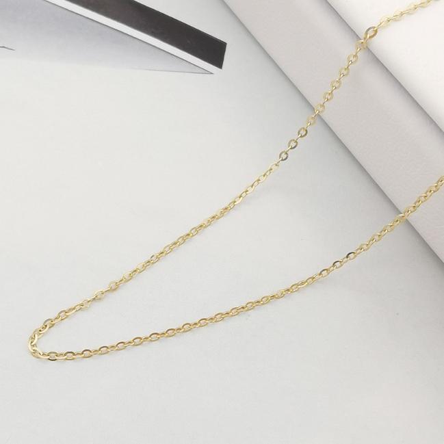 """Zlatý řetízek """"pancer"""" 14kt žluté zlato, 40 + 5 cm"""