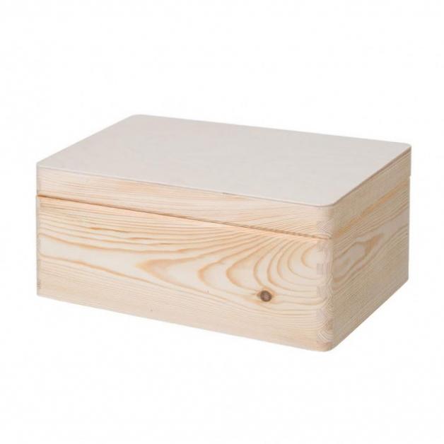 Dřevěný otevírací box