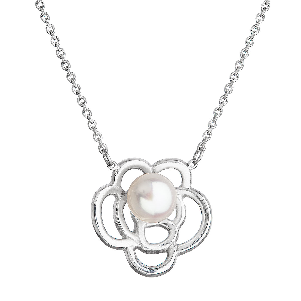 Perlový náhrdelník s pravou říční perlou EG4264