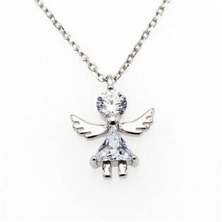 NB-2189 Střibrný náhrdelník andílek