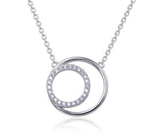 NB-2176 Střibrný náhrdelník kolečko