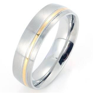Levně Pánský ocelový prsten - velikost 65 - OPR1878-P-65