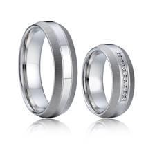 AN1002 Snubní prsteny chirurgická ocel - pár