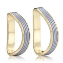 AN1014 Snubní prsteny chirurgická ocel - pár