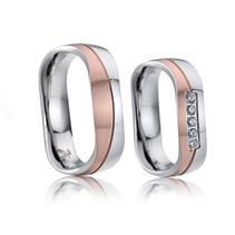 AN1021 Snubní prsteny chirurgická ocel - pár
