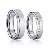 AN1040 Stříbrné snubní prsteny AG925/1000 - pár