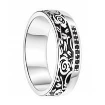 AN1043 Dámský stříbrný snubní prsten