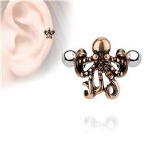 Cartilage piercing do ucha - chobotnice