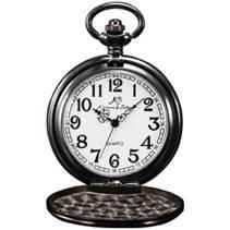Černé kapesní hodinky v dárkovém balení