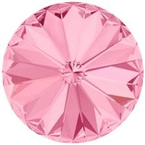Crystals from Swarovski® RIVOLI 12 mm - LIGHT ROSE