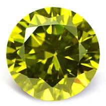 CZ Kubický zirkon - Golden Yellow, pr. 2.50 mm