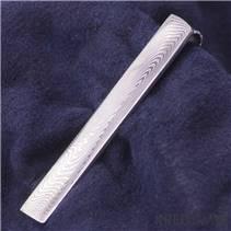Damasteel kovaná kravatová spona Loper