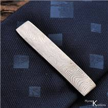 Damasteel kovaná kravatová spona Masiv