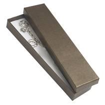 Dárková krabička na náramek - perleťově hnědá