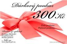 Dárkový poukaz 300,- Kč