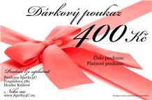 Dárkový poukaz 400,- Kč