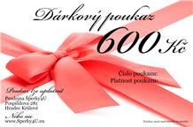 Dárkový poukaz 600,- Kč