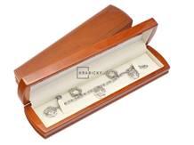 Dřevěná dárková krabička na náramek