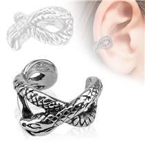 Falešný piercing do ucha - klips had