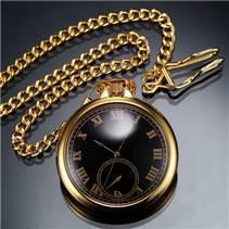 Kapesní hodinky zlacené - cibule