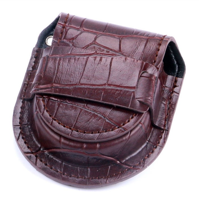 5ee3bf29f8c Kapsička na kapesní hodinky hnědá