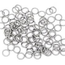 komponenty - ocelový kroužek 0,8x6 mm