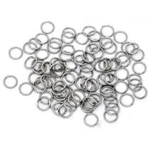 komponenty - ocelový kroužek 1,0x8 mm
