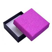 Krabička na soupravu šperků, růžová/černá