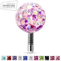 Kulička s krystaly Swarovski® 4 mm