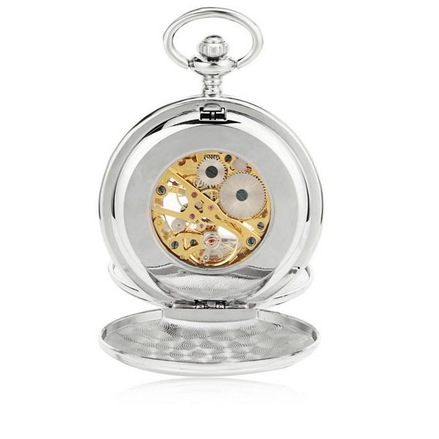 Mechanické kapesní hodinky otevírací - cibule  1717cf7305