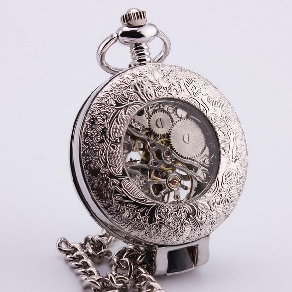 f89b45ebec0 Mechanické kapesní hodinky otevírací - cibule