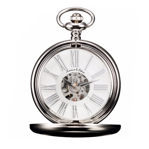 Mechanické kapesní hodinky v dárkovém balení  fb98172127