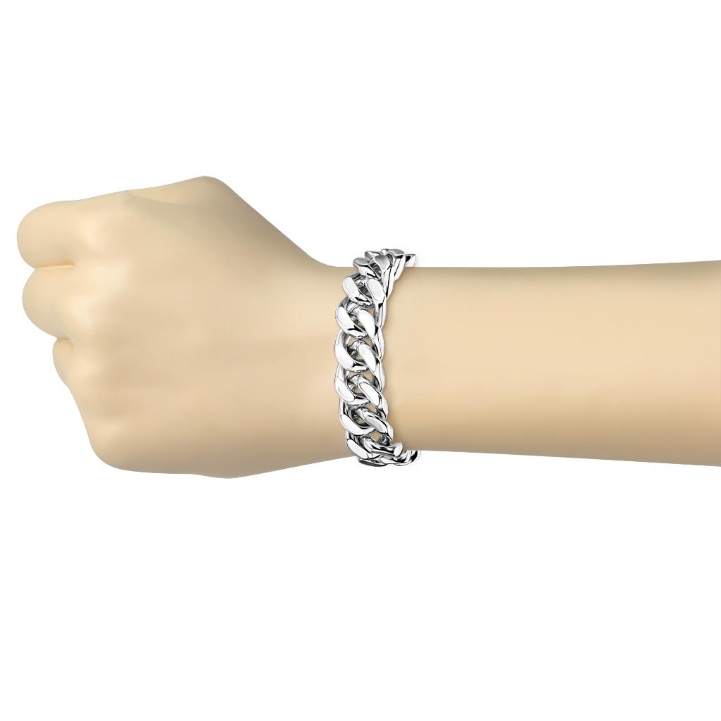8e129b511 Mohutný pánský ocelový náramek | Šperky4U.eu