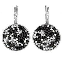 Náušnice s krystaly Crystals from Swarovski® CAL PEPPER