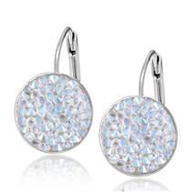 Náušnice s krystaly Crystals from Swarovski® CRYSTAL SHIMMER
