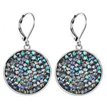 Náušnice s krystaly Crystals from Swarovski® PARADISE SHINE