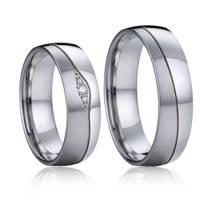 NSS1013 Snubní prsteny chirurgická ocel - pár