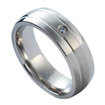 NSS1014 Dámský snubní prsten se zirkonem