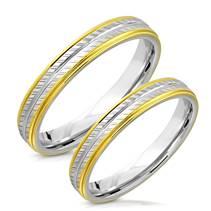 NSS3006 Snubní prsteny chirurgická ocel - pár