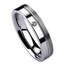 NWF1001 Dámský snubní prsten se zirkonem