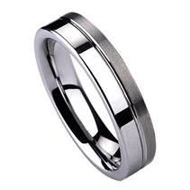 NWF1001 Pánský snubní prsten wolfram