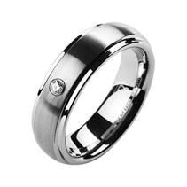 NWF1008 Dámský snubní prsten se zirkonem